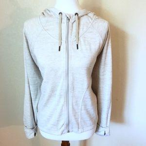 [Athleta] Cream Hoodie Sweater